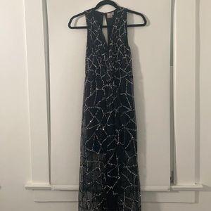 ASOS Beaded maxi dress